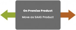 On Premise Product - Move as SAAS Product
